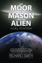 The cover of The Moor, The Mason, and the Alien.