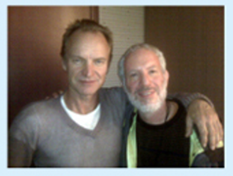 Paul Levy and Sting.